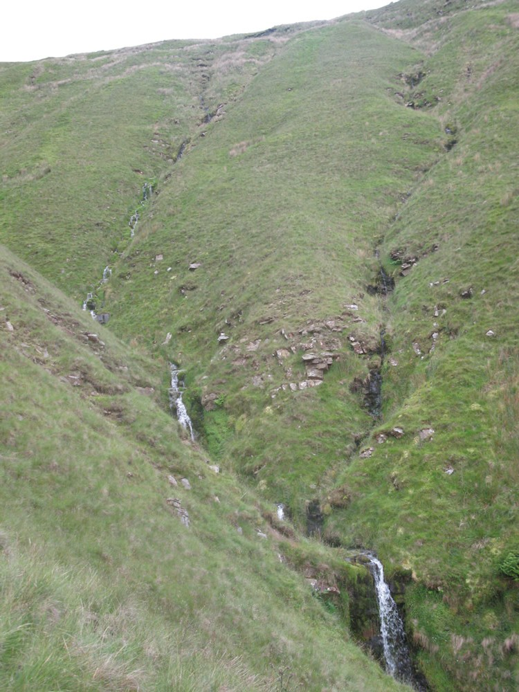 Upper reaches of the clough